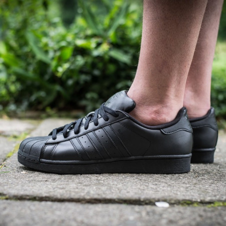 Adidas Super Star Full Black